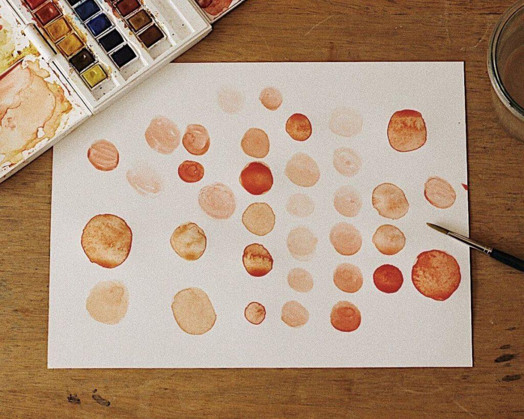 Aquarell malen Übungen für Anfänger