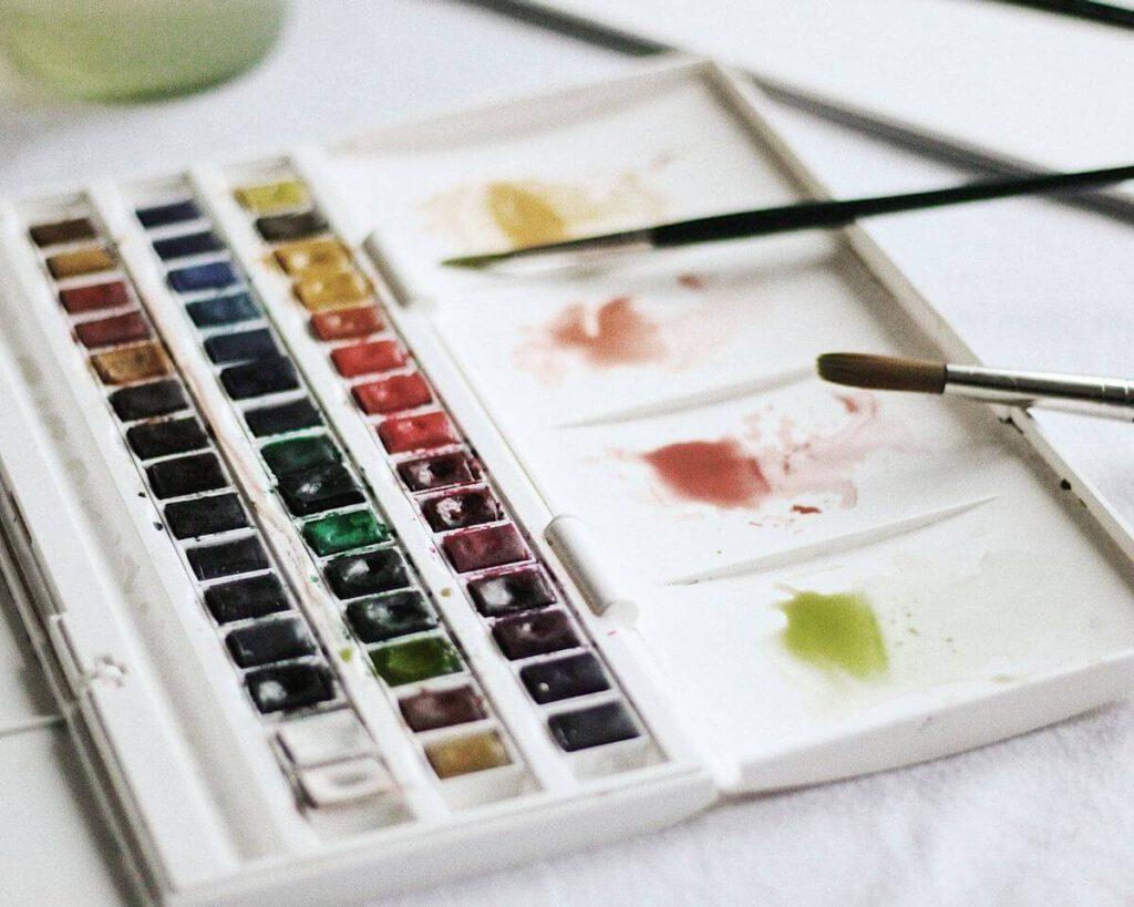 Aquarell malen lernen für Anfänger Anleitung