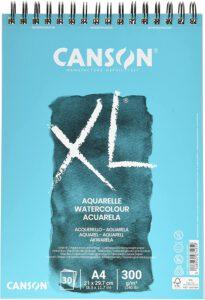 Aquarellblock für Anfänger: Canson XXL