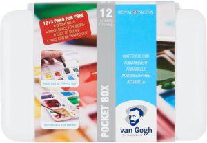 Van Gogh Aquarellfarben Pocket Box 12 Farben